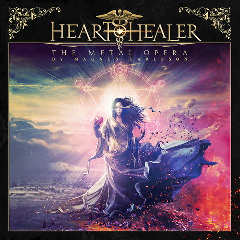 HEART HEALER  The Metal Opera By Magnus Karlsson, le 12 Mars 2021 Ac230