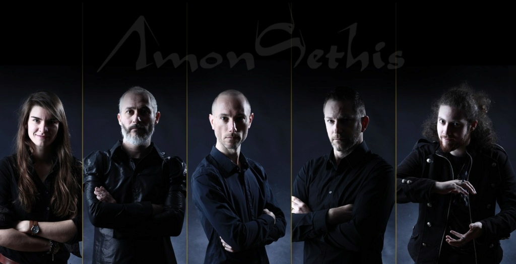 """[Prog] AMON-SETHIS """"Part 0 - The Queen With Golden Hair, """" Ac32"""