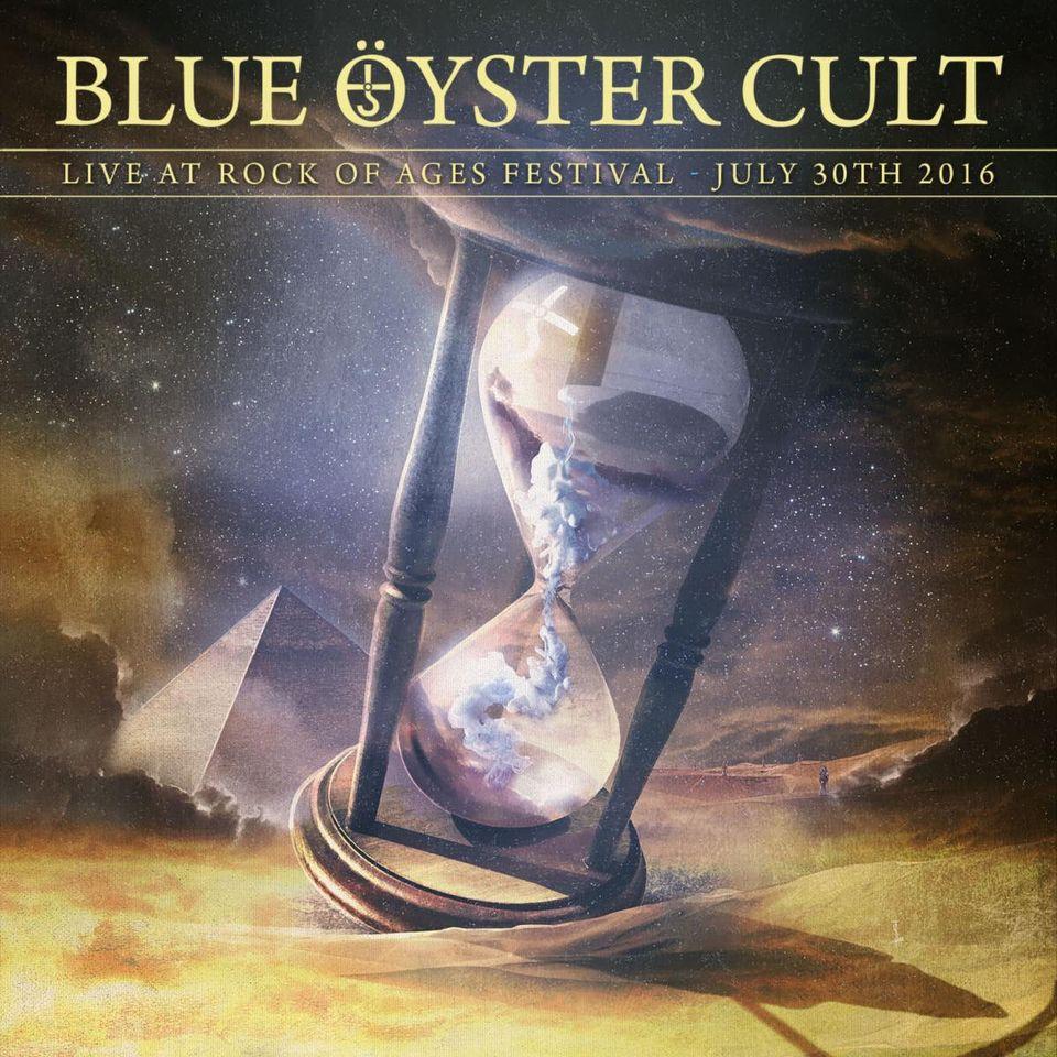 """BLUE ÖYSTER CULT """" Live At Rock Of Ages Festival 2016"""" le 4 Décembre 2020  Ac98"""
