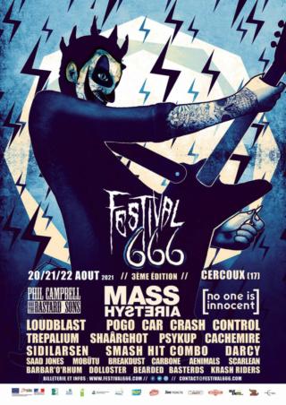 Festival 666 : running order dévoilé et pass 1 jour disponibles Affich10