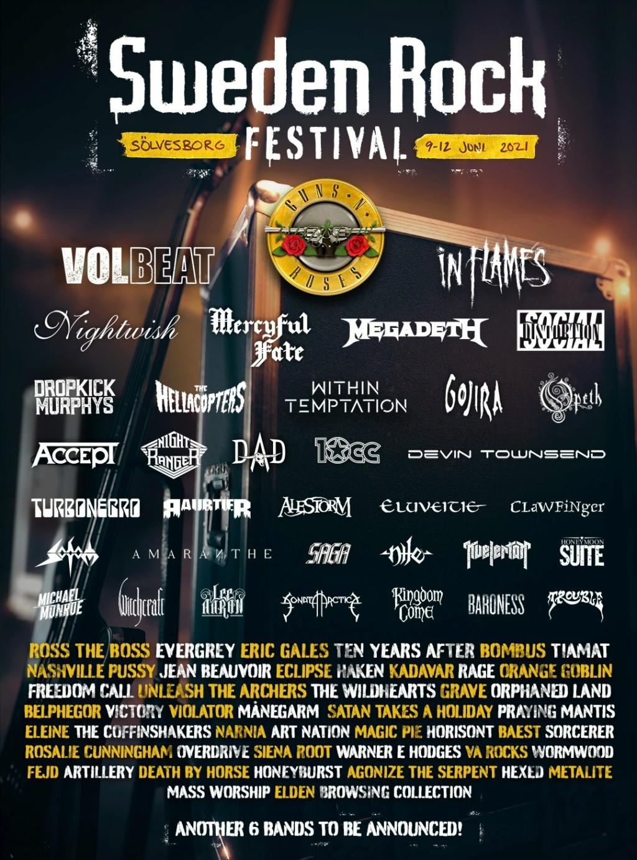 Sweden Rock Festival 9 -  juin 2021 Ard10