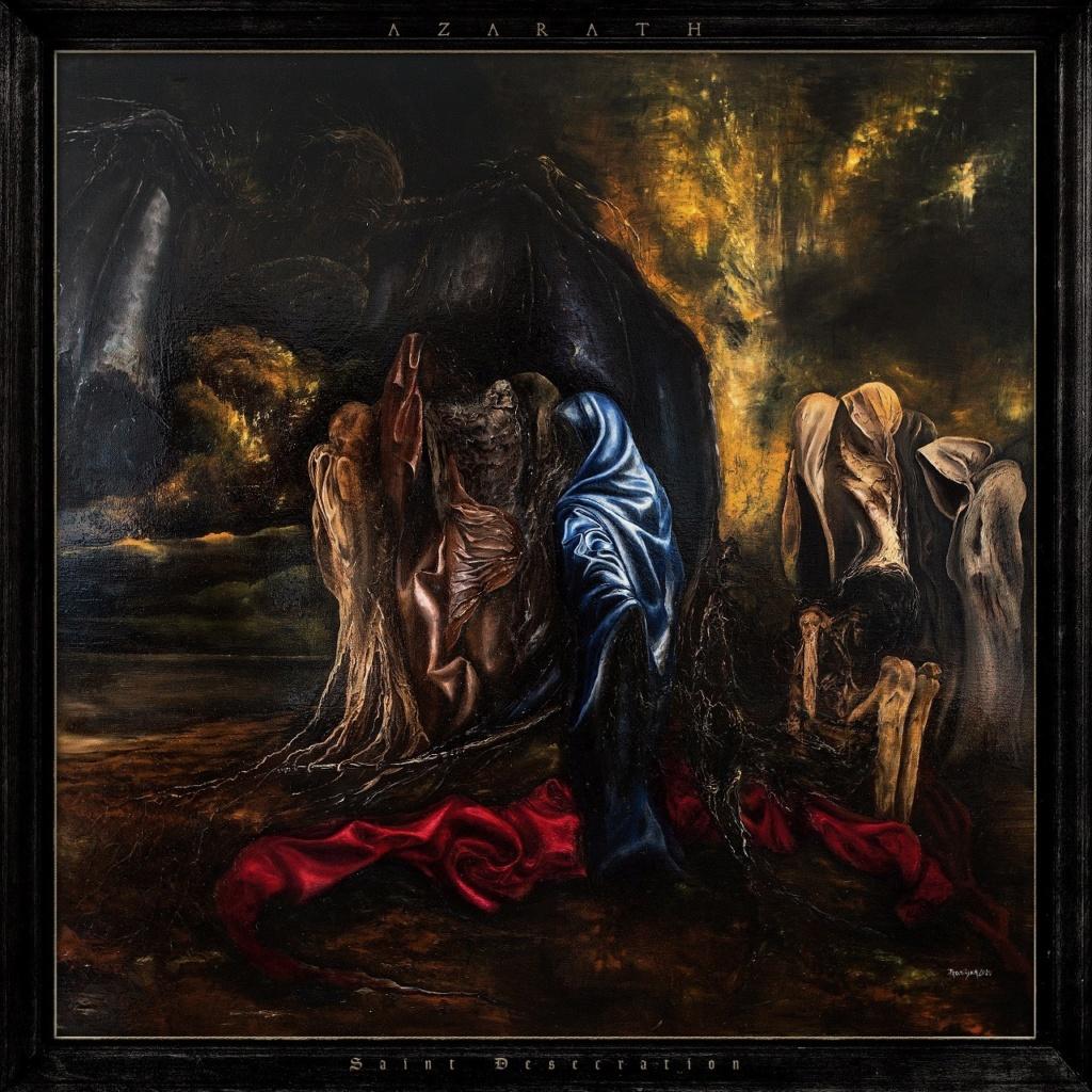 "AZARATH  ""Saint Desecration"" (Black Death - NOV 2020) Azarat10"