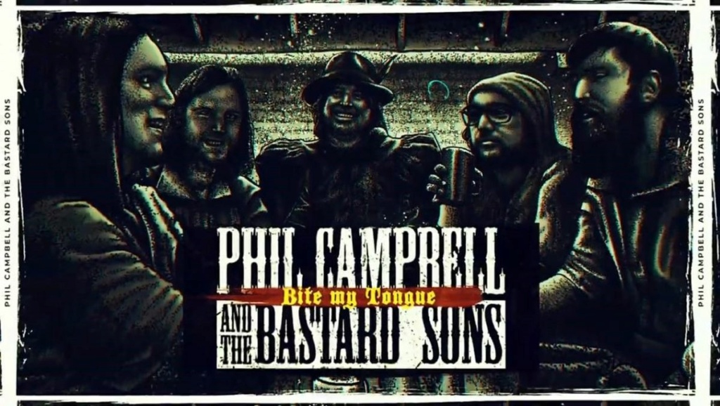 "Phil Campbell And The Bastard Sons""We're The Bastards"" le 13 novembre 2020  Bas10"