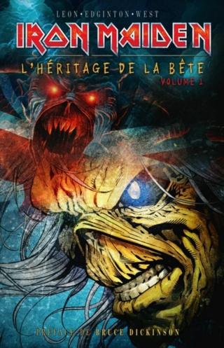 Iron Maiden : premier tome de la BD officielle en français C1fa7510