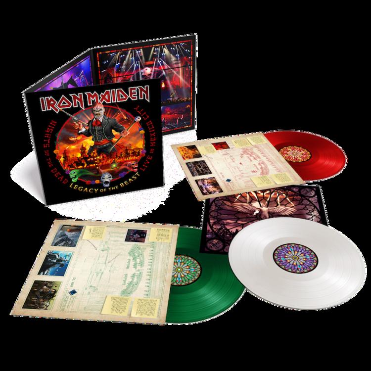 IRON MAIDEN nouvel album live Colour10
