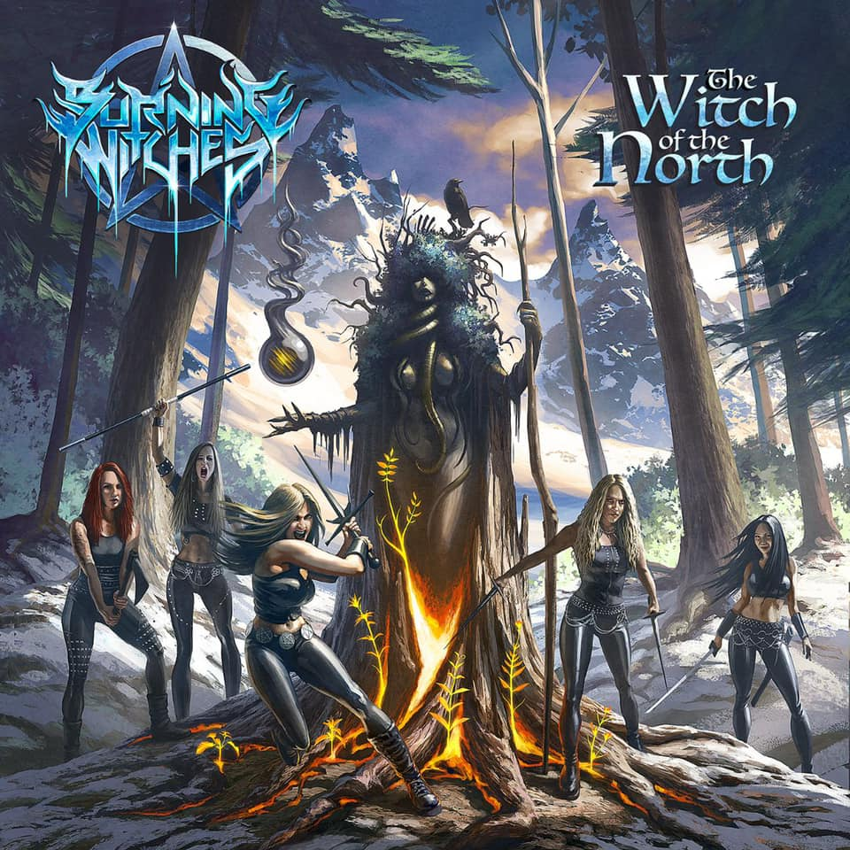 BURNING WITCHES (Heavy Metal ) - The Witch Of The North, le 28 Mai 2021 Daajv410