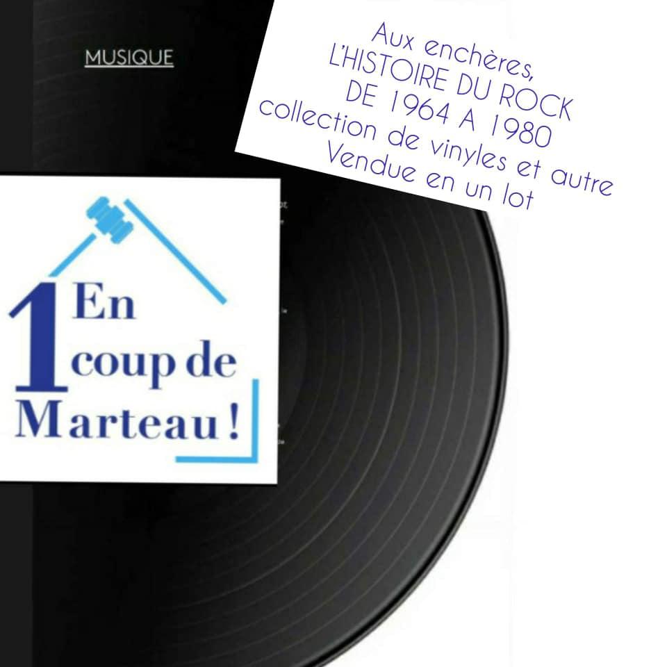 Mercredi 21 Octobre, offrez-vous aux enchères L'INTEGRALE DU ROCK DE 1964 A 1980 ... Disc10