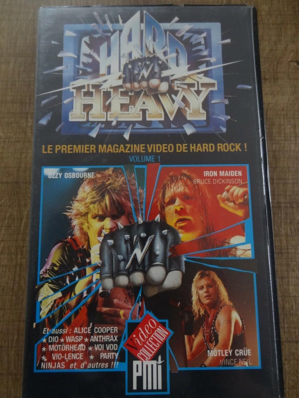 """QUI a Connu le Premier Magazine Vidéo de Hard Rock  """" Hard N Heavy """" Dsc07455"""