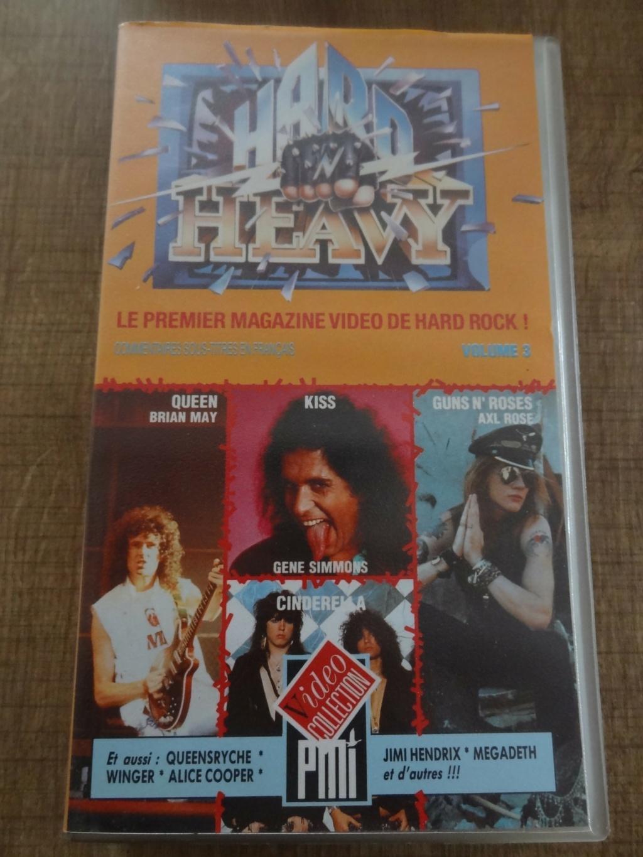 """QUI a Connu le Premier Magazine Vidéo de Hard Rock  """" Hard N Heavy """" Dsc07459"""