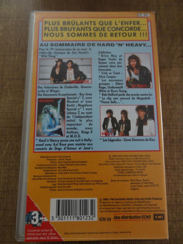 """QUI a Connu le Premier Magazine Vidéo de Hard Rock  """" Hard N Heavy """" Dsc07460"""