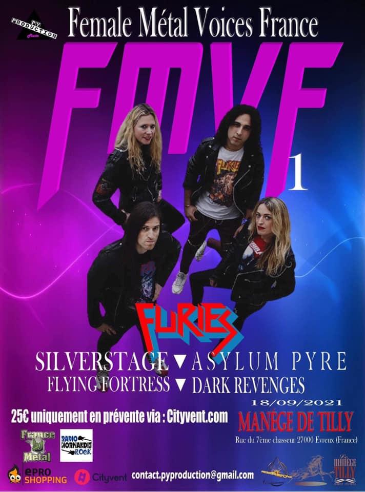 "female Metal Voices France 2021  "" Avec Furies et Dark Revenges ... Female10"