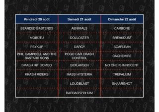 Festival 666 : running order dévoilé et pass 1 jour disponibles Fullsi10