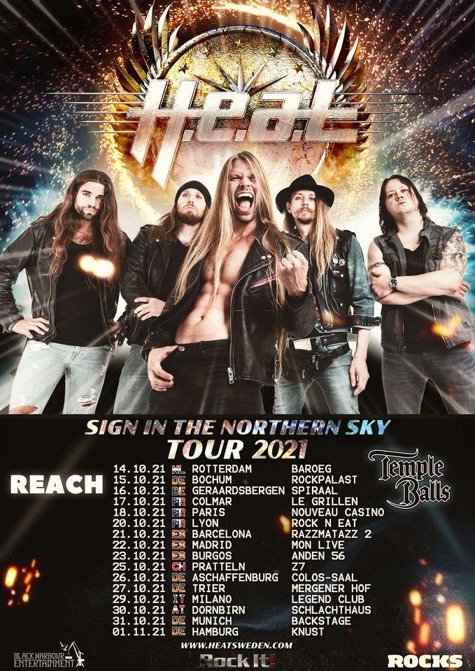 H.E.A.T tour 2021  Heat12