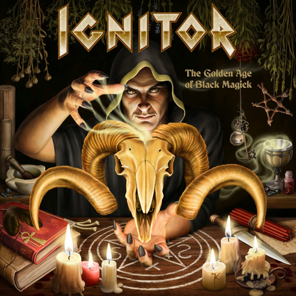 """IGNITOR """"The Golden Age of Black Magick"""" Ig10"""