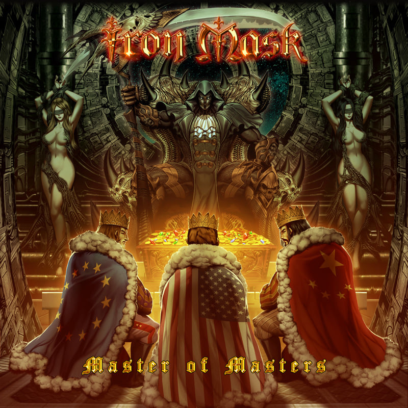 "IRON MASK ""Master Of Masters,""le 4 Décembre2020 Ironm10"