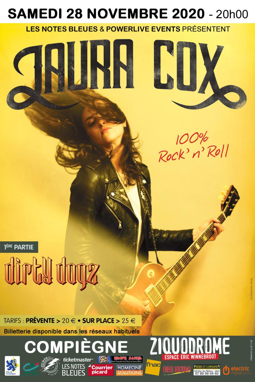 LAURA COX et DIRTY DOGZ en concert le 28 Novembre 2020.  Laura10