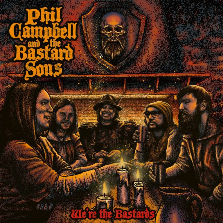 """Phil Campbell And The Bastard Sons""""We're The Bastards"""" le 13 novembre 2020  Le_13_10"""