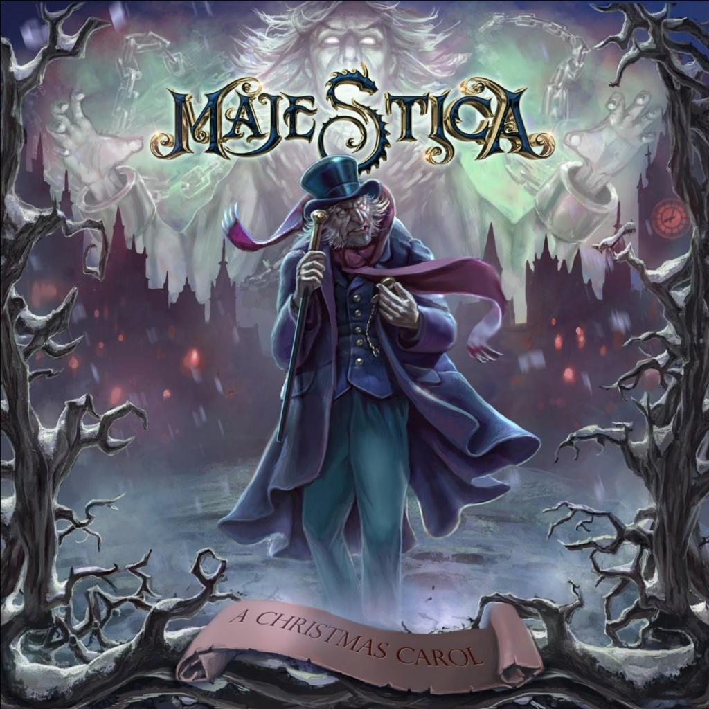 """MAJESTICA (Power Metal)  """" A Christmas Carol""""  le 4 Décembre 2020 Majest11"""
