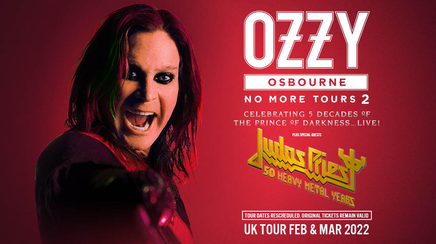"OZZY OSBOURNE + Judas Priest ""NO MORE TOURS 2"" Ozzy10"