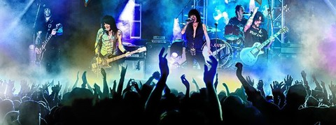L.A. GUNS (Hard Rock)  Cocked And Loaded Live, le 9 Juillet 2021 Pf6frx10