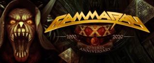 GAMMA RAY sortiront un nouveau CD/DVD/Blu-ray live, intitulé XXX - 30 Years Live Anniversary, le 10 Septembre 2021 S6rnxe10