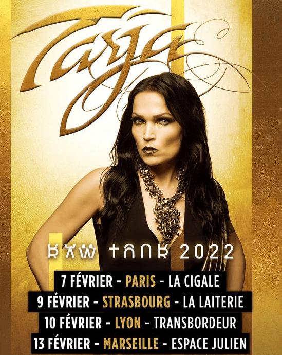 Tarja en concert en France . Les dates de 2021 sont déplacées en 2022 Tarja_10