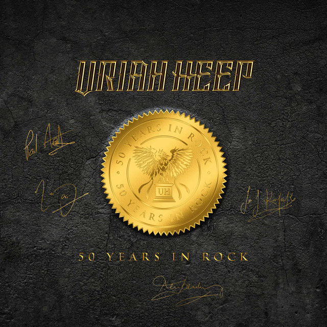 Uriah Heep 50 Years In Rock Boxset pour le .... W0147
