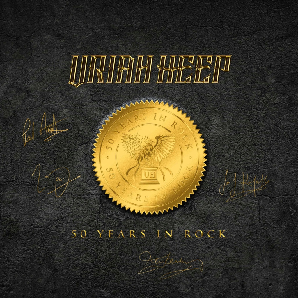 Uriah Heep 50 Years In Rock Boxset pour le .... W0149