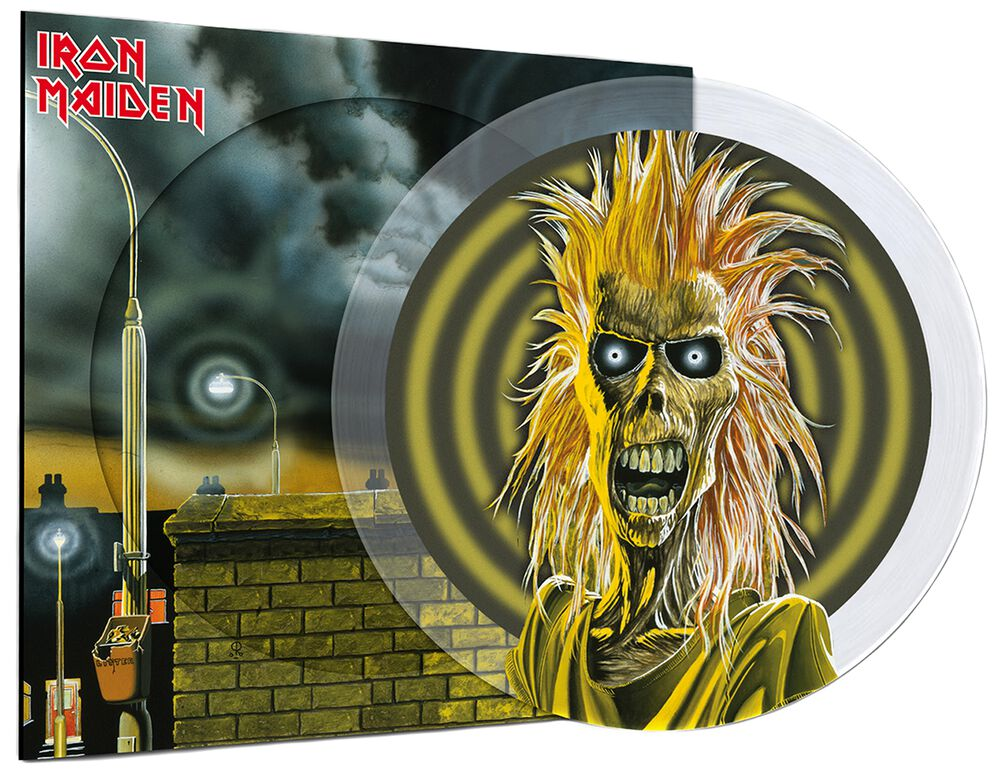 IRON MAIDEN Iron Maiden (40th Anniversary) CRYSTAL CLEAR W0151