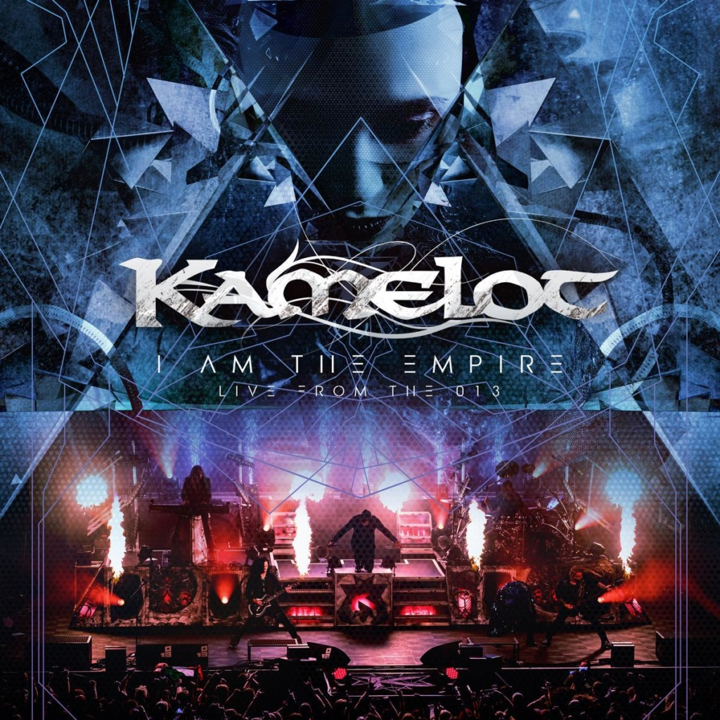 KAMELOT  I Am The Empire - Live From The 013 CD DVD 14 aout 2020 W027