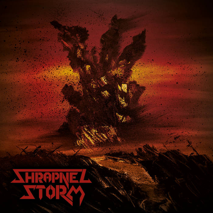"""Shrapnel Storm : Nouvel album  """"Shrapnel Storm""""  W054"""