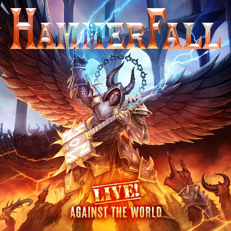 HAMMERFALL:  Live! Against The World pour le ...... W128