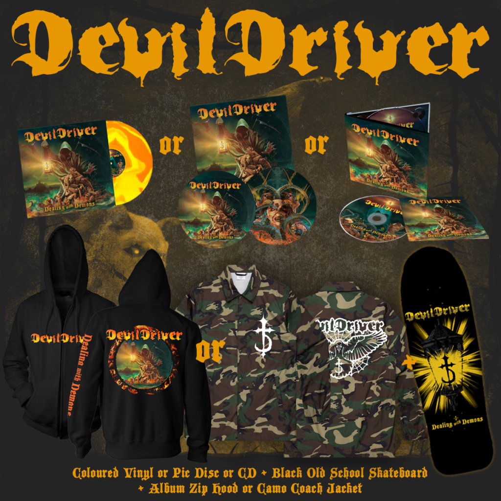 DEVILDRIVER   Dealing With Demons  9 octobre 2020  Wo13