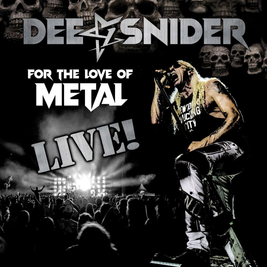 DEE SNIDER .. For The Love of Metal Live Album ...31.07.2020 Wopoch10