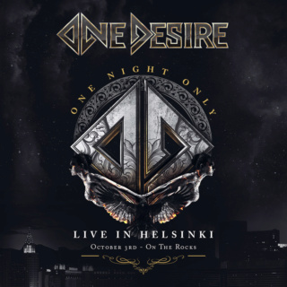 ONE DESIRE  (Melodic Hard Rock)One Night Only - Live In Helsinki, le 11 Juin 2021  Xhcrii10