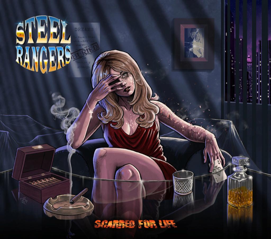 STEEL RANGERS (Melodic Hard Rock / Heavy Metal) Scarred For Life, le 4 Juin 2021 Yollcp10