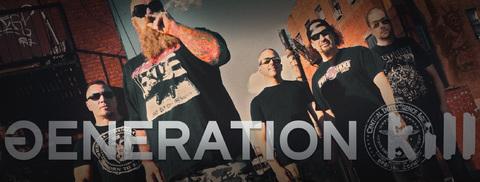 GENERATION KILL (Thrash Metal) - avec Rob Dukes (ex-Exodus) Z397-b10