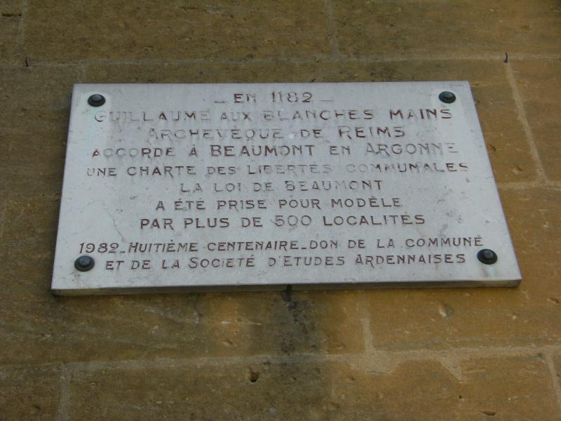 Beaumont-en-Argonne et Guillaume aux Blanches Mains Dscf0616