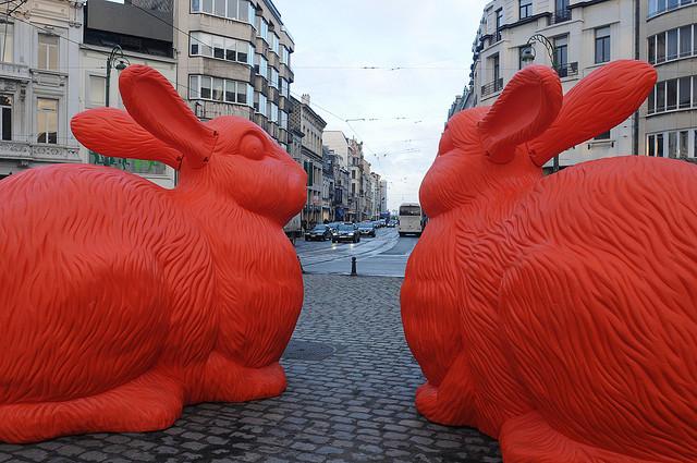 Le lapin dans l'art Lapins11