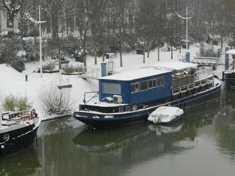 La neige sur l'île de la Jatte (20 janvier 2013) Levall21