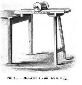 Malaxeur à beurre Mala7410