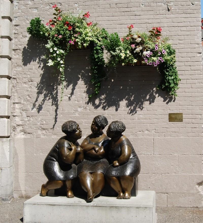 Salon du chocolat Statue10