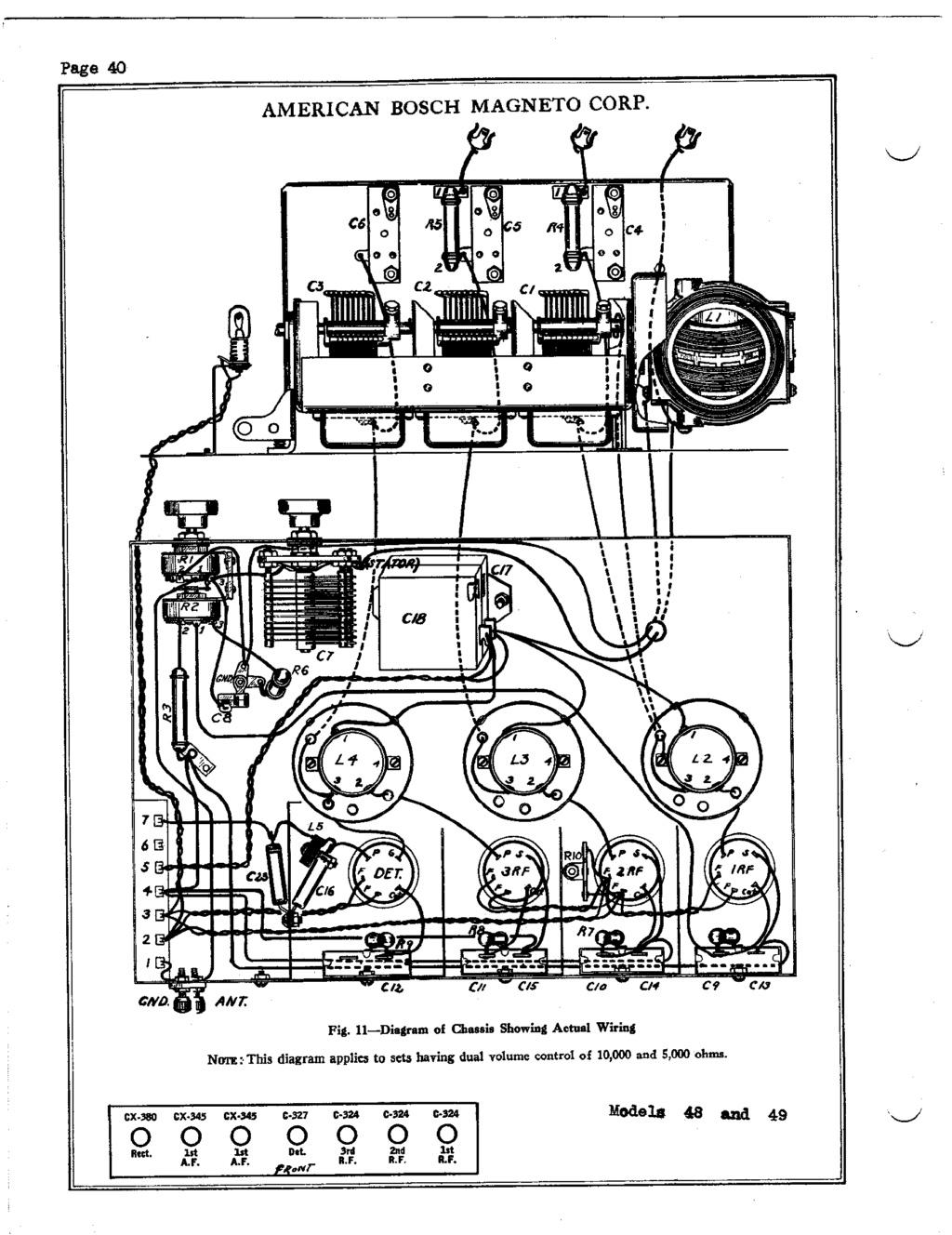 American Bosch Model 48 restoration Americ10
