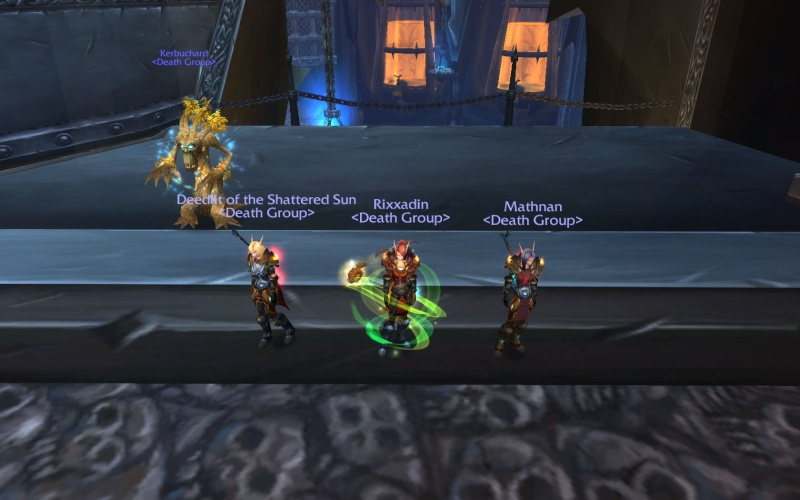 A blonde, a brunette and a red head walk into the Plagueworks Wowscr11