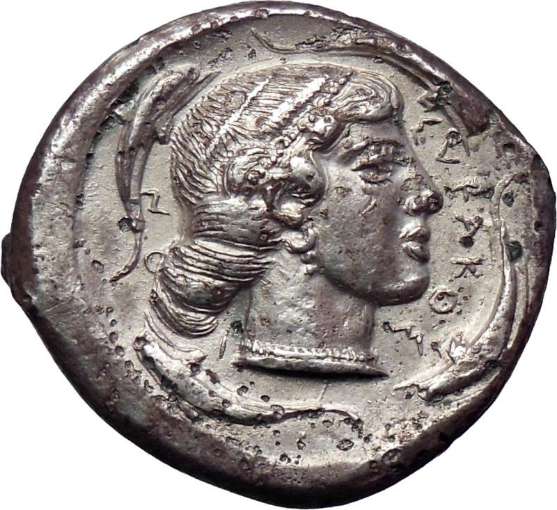 Tetradracma de Siracusa (Sicilia, siglo V a.C.) 116
