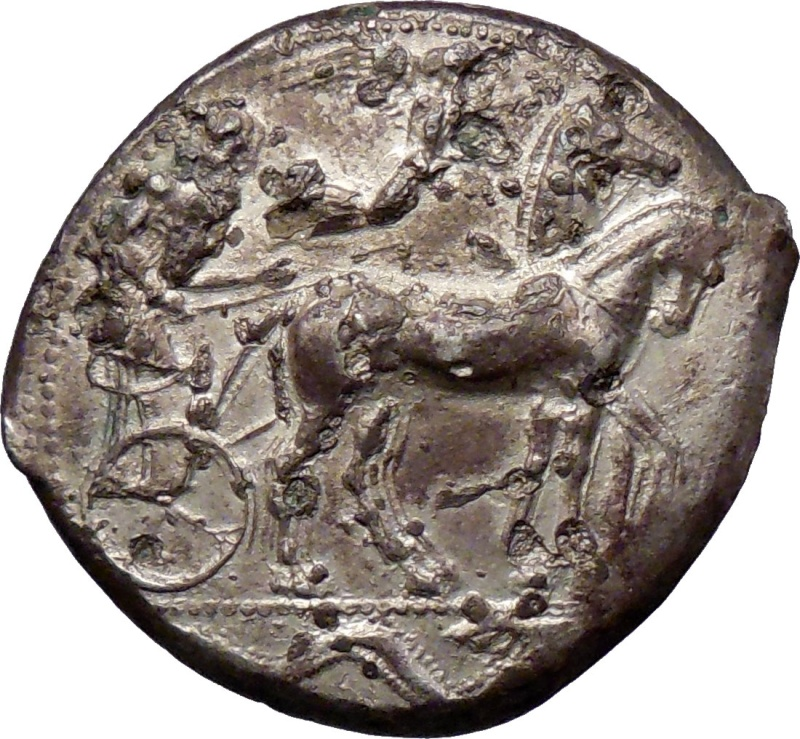 Tetradracma de Siracusa (Sicilia, siglo V a.C.) 212