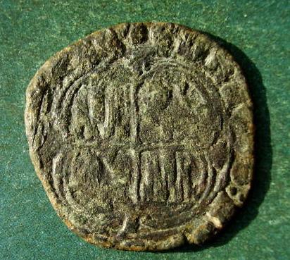 Real de vellón de Enrique II (1369 - 1379 d.C) Mas_de10