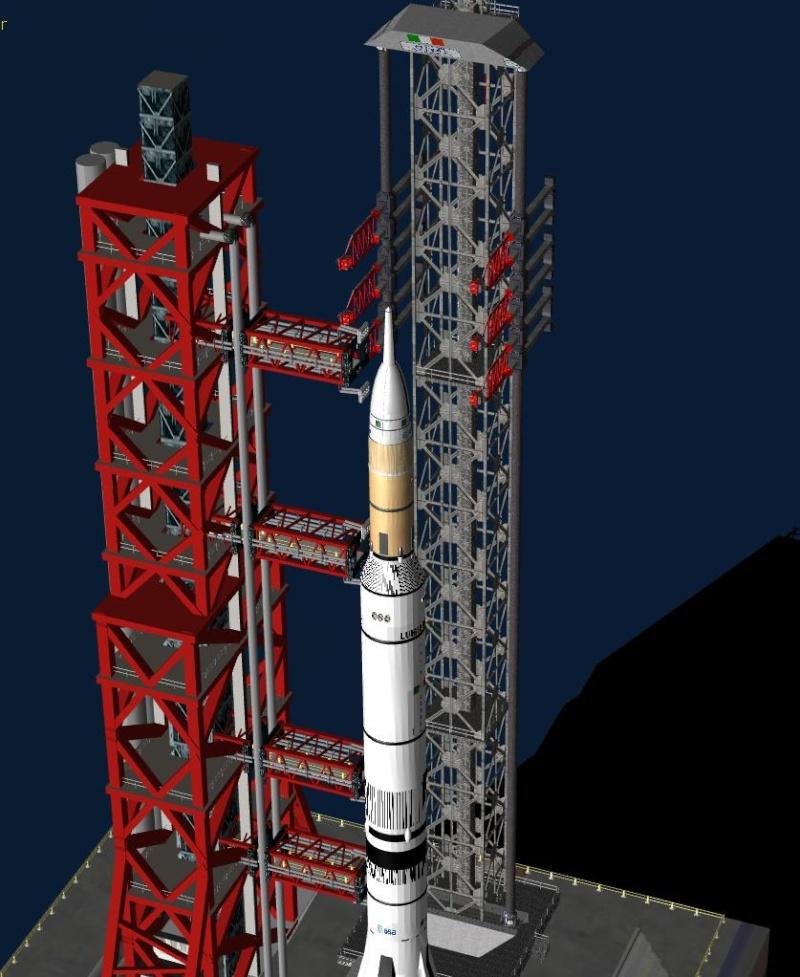 Piattaforma di lancio Aurora v 3.0 Rs210