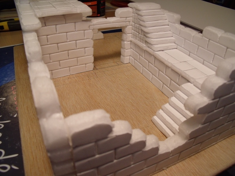 Mon nouveau projet: Ruines d'Osgiliath Dscf0210