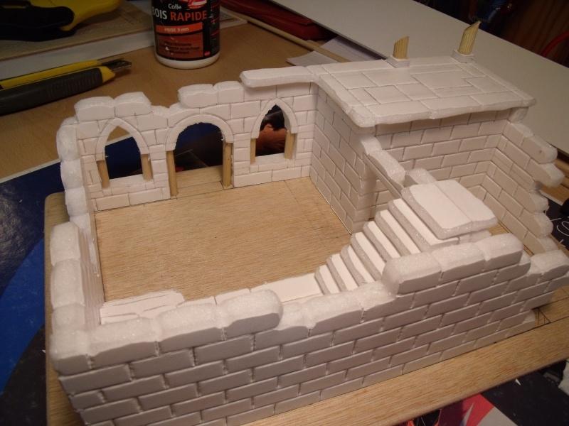 Mon nouveau projet: Ruines d'Osgiliath Dscf0211